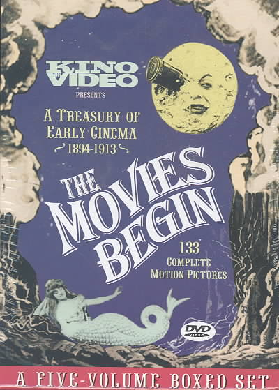 MOVIES BEGIN (DVD)
